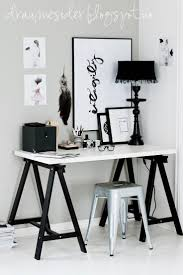 work desk ideas white office. draumesidene office u0026 vee speers i like the black and ire theme work desk ideas white