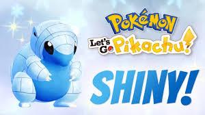 Trading Endlessly to Get a Shiny Alolan Sandshrew in Pokemon Let's Go  Pikachu/Eevee - YouTube