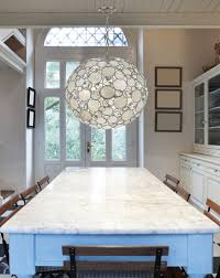 capiz chandelier pier decorating ideas rectangular granite dining table with cool capiz chandelier plus glass