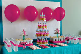 Party Table Decoration Ideas for little girls | ... party table  centerpieces ideas and