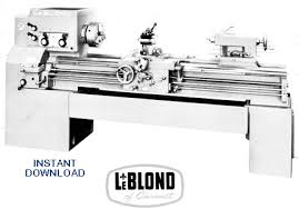 regal gif leblond instruction and parts manual for leblond 13 15 17 and 19 regal lathes manual no 3903 serial nos like 5c 572