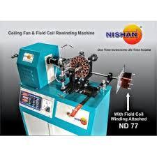 nishan ceiling fan field coil winding machine