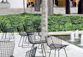 bertoia outdoor chair