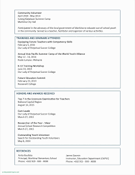 Resume Reference Sheet Unique References For Resume Template New