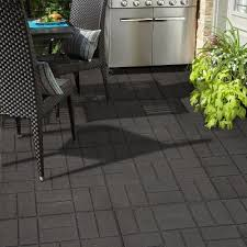 patio flooring choices. some tiles are made so that they can be placed on any flat surface such as a patio and interlock with one another. others may need to screwed or glued in flooring choices