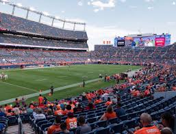 Broncos Stadium At Mile High Section 110 Seat Views Seatgeek