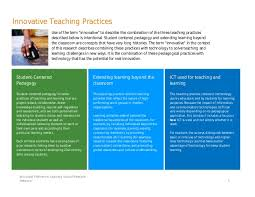 Teacher Brochure Example Partners In Learning School Report Sample