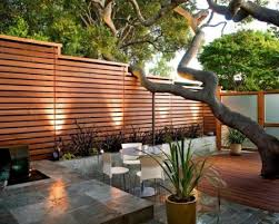 Top 40 Stunning Wood Fence Designs Jay Fencing Interesting Backyard Fence Designs