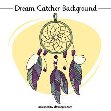 Dream Catchers Sketches Sketch of dream catcher background Vector Free Download 89