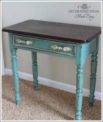 turquoise painted furniture ideas. Chalk Paint Furniture Ideas, Paint, Painted Furniture, Leave The Top Of A Turquoise Ideas
