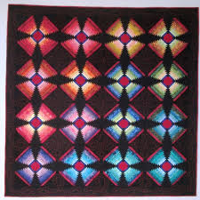201 best CHURCH QUILTS images on Pinterest | DIY, Bear paw quilt ... & All Aglow by Betty Manuel (Cathy Tomm drafted the block, shared in the  machine Adamdwight.com