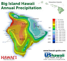 Hawaii Rainfall Chart Hawaii Weather
