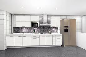 Modern kitchen design white cabinets High Gloss Modern Kitchen Cabinets Pthyd Modern Kitchen Cabinets Pthyd