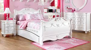 twin girls bedroom sets. Disney Princess White 5 Pc Twin Sleigh Bedroom - Girls\u0027 Sets Girls