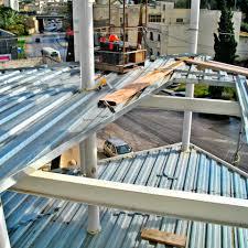 corrugated sheet metal galvanized steel floor