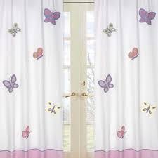 girls bedroom curtains girl purple pink little blackout unbelievable ideas