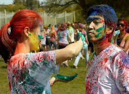 beautiful happy holi educational entertainment holi festival at phillipines