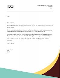 Example Business Letterhead Official Company Letterhead Sample Format Template Example
