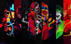 Super Hero Abstract Wallpapers - Top ...