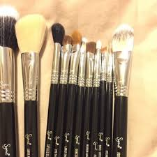 black sigma makeup brush set
