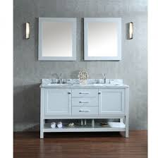Ariel by Seacliff Bayhill 60 Double Sink Bathroom Vanity Set