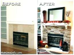 stack stone fireplace pictures white d decor tips exciting surround