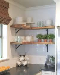 "Corner Shelving For Kitchen 1 Shanty Sisters on Instagram ""Simple corner shelves! We bought 100"