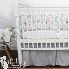 blue peach green little llama baby boy crib bedding set nursery bedroom sets cowboy gender neutral