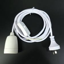 pendant light cord set light