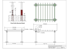 custom cedar fence pergola examples best services portland this is the construction drawing for the pergola that would define the patio and outdoor dining area in the garden