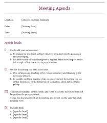 office agenda 13 free sample office meeting agenda templates printable samples