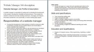 job description data manager php developer job description proyectoportal com nice with puter