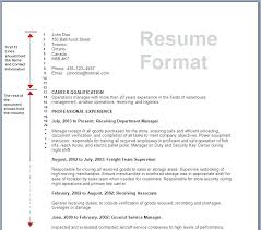 correct format of resumes format resume word resume in word template free word pdf documents
