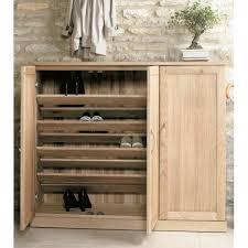 mobel oak extra large shoe cupboard baumhaus mobel oak large 3