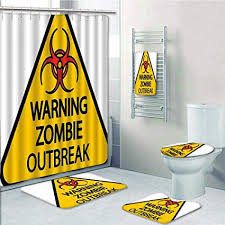 Zombie Bathroom Set