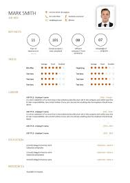 Resume Template With Photo Free downloadable CV template examples career advice how to 88