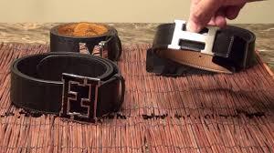 All Designer Belts Which Is Better 4 Designer Belt Quality Comparison Hermes H Belt Louis Vuitton Fendi And Mcm
