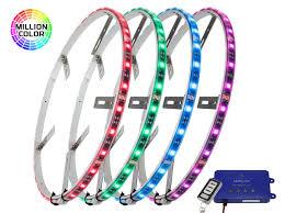Wheel Light Kit 4pc Million Color Led Wheel Ring Light Kit