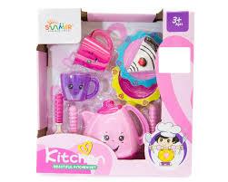 Set De Cocina Infantil Sunmir Toys