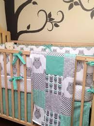 grey crib bedding boy inspiration