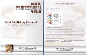 book publishing templates book publishing proposal template proposal templates