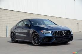The base cla 250 sports a starting price of $37,850. 2020 Mercedes Amg Cla 45 4matic Review Car Reviews Auto123