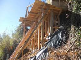 foundation repair los angeles. Exellent Angeles Hillside Foundation Construction Intended Foundation Repair Los Angeles N