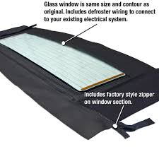 fits 1986 1994 saab 900 convertible top window black haartz saab 900 convertible top 86 94 in black stayfast cloth heated glass window section only
