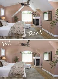 Couldn't find the ideas for slanted ceilings but saw some neat ideas on the