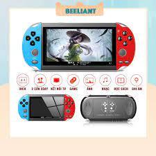 Máy chơi game cầm tay PSP X7 4.3 inch gồm 900 game, nghe nhạc, xem phim,  đọc sách