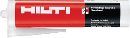 Silicone Sealant Coverage Chart Cp 606 Firestop Acrylic Sealant New