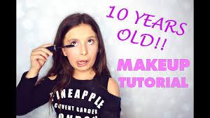 10 years old makeup tutorial