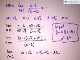 Menyelesaikan limit bentuk akar dengan kali sekawan dan cara praktis. Cara Menyelesaikan Limit Bentuk Akar Trik Mudah Belajar Limit Fungsi Unacademy