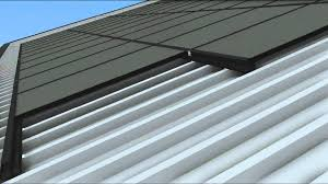 soltecture sol30 rooftop mounting system installation on tzoidal sheet metal roof you